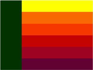 Сочетания зеленого цвета