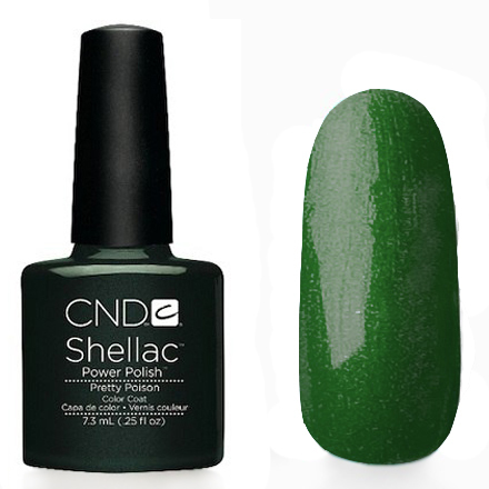 CND Shellac Гелевое покрытие Pretty Poison 7.3 мл