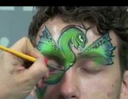 Dragon Wings Face Painting Tutorial