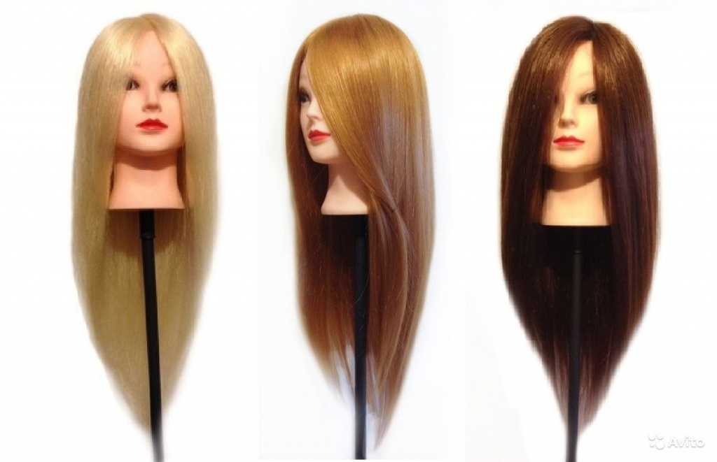Как выбрать манекен для причёсок с волосами?