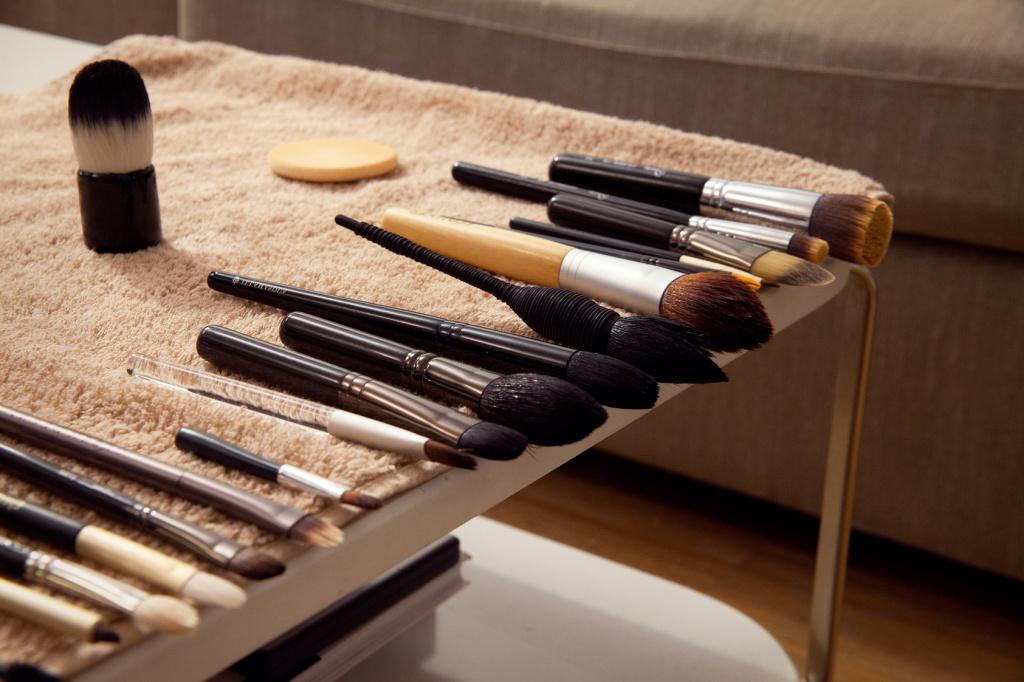Какие кисти для макияжа лучше: натуральные или искусственные?