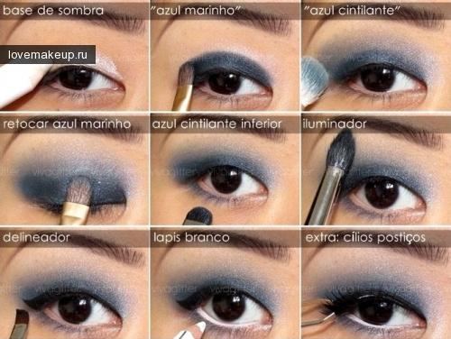 Макияж на азиатский разрез глаз