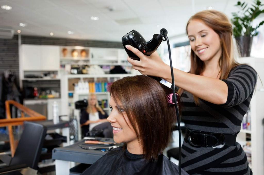 Сколько по времени занимает стрижка волос