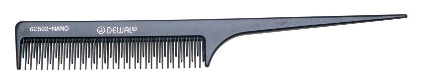 """Расческа с тонкой длинной ручкой и частыми зубьями ( """"хвостик"""")"""