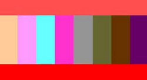 Таблица сочетания кораллового цвета